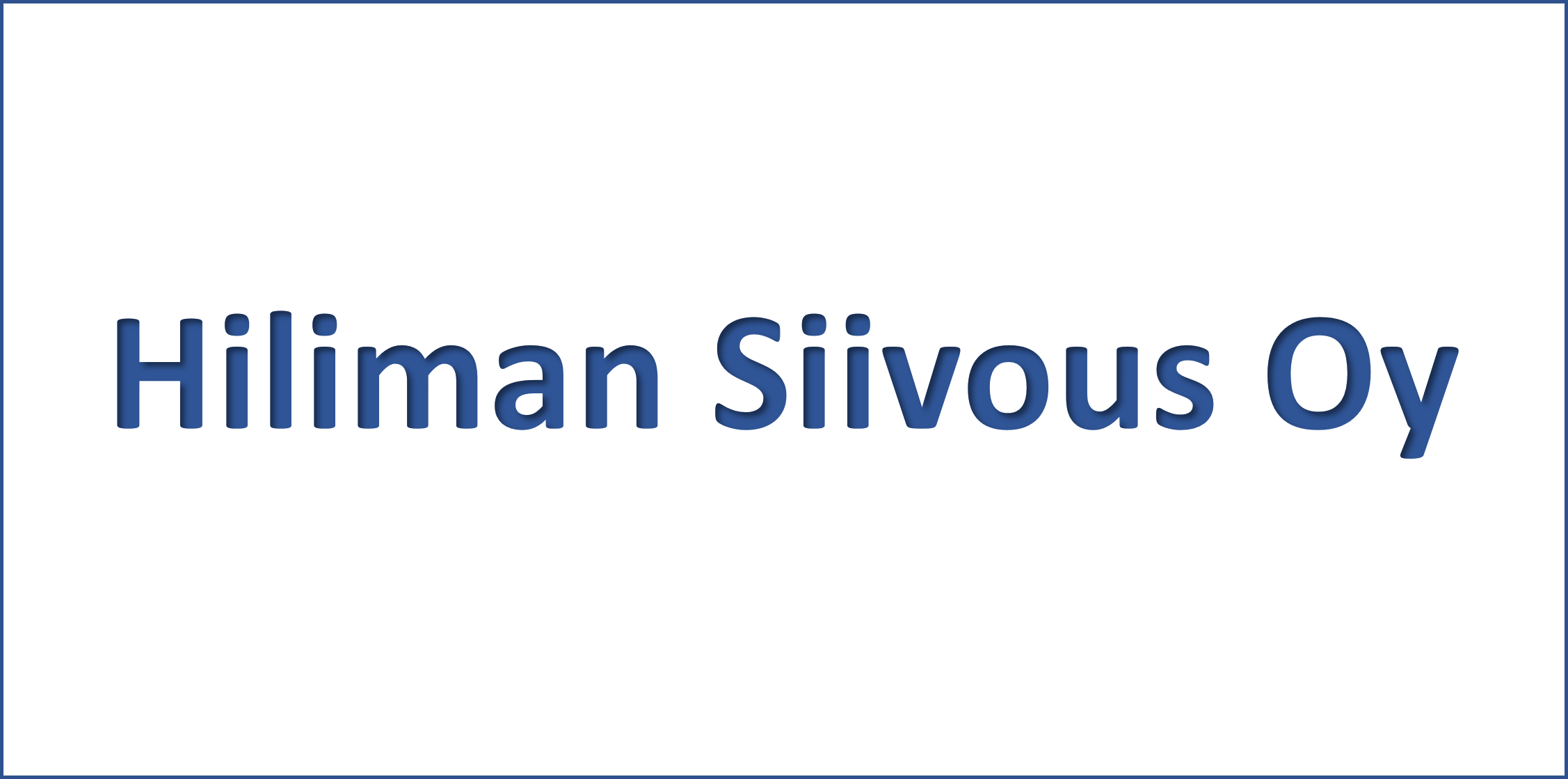 Hiliman Siivous Oy